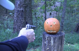 How To: Carve A Pumpkin With A Gun
