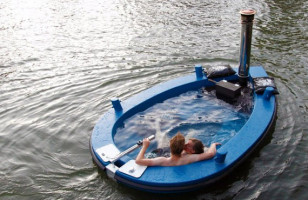 You Are Definitely Gonna Want A HotTug, The Hot Tub Tug Boat