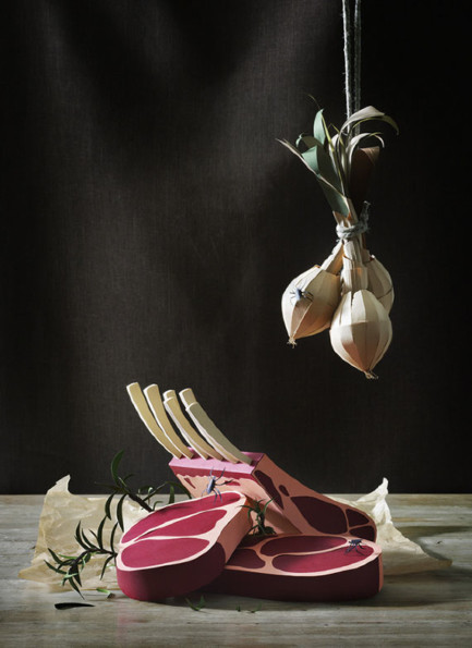 Paper Crafted Still Life Photography