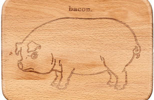 This Little Piggy Went To The Cutting Board
