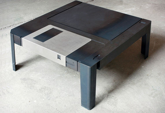 The Floppy Disk Table Provides Minimal Storage