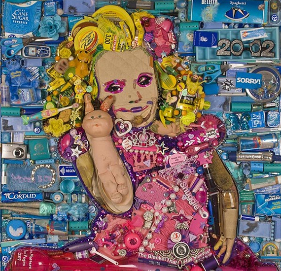 So Trashy: Honey Boo Boo Mosaic Portrait