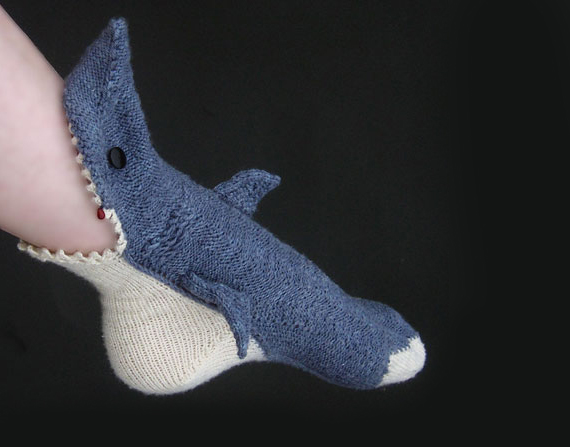 Shark Socks Are So Comfy It's Scary