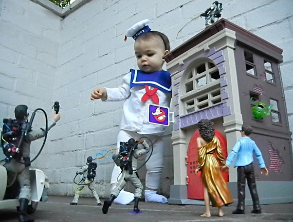 Stay Puft Marshmallow Baby Cosplay