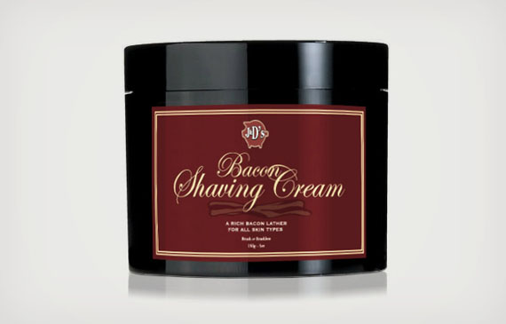 Sounds Hygienic: Bacon Shaving Cream