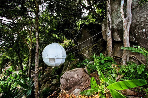Hang Out In A Hanging Cocoon Tent