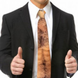 Hairy Chest and Stomach Tie