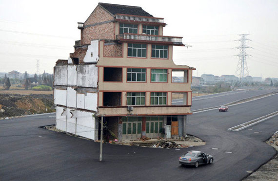 House In The Middle Of A Highway