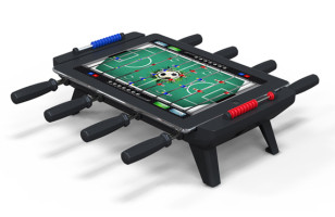 Turn Your iPad Into Tiniest Foosball Table Ever