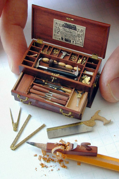 Tiny Hardware: Mini Tool Chest & Mini Tools