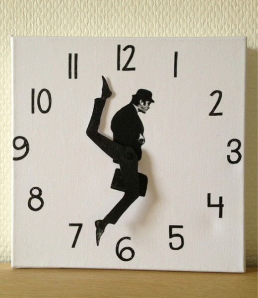 DIY Ministry Of Silly Walks Clock