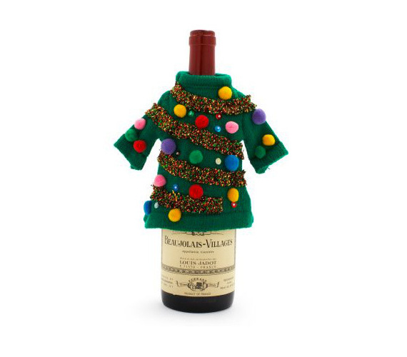 Ugly Christmas Sweaters For Wine Bottles