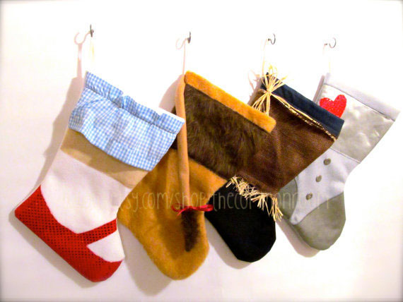 Wizard Of Oz Themed Stocking Set