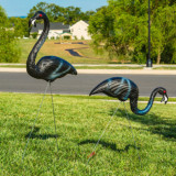 Zombie Flamingo Lawn Ornaments
