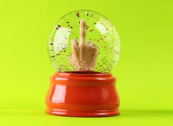 Check Out This Flippin Snow Globe