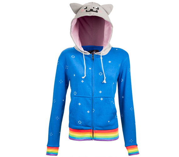 DO WANT: Nyan Cat Hoodie