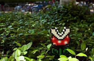 Piranha Plant Garden Ornament