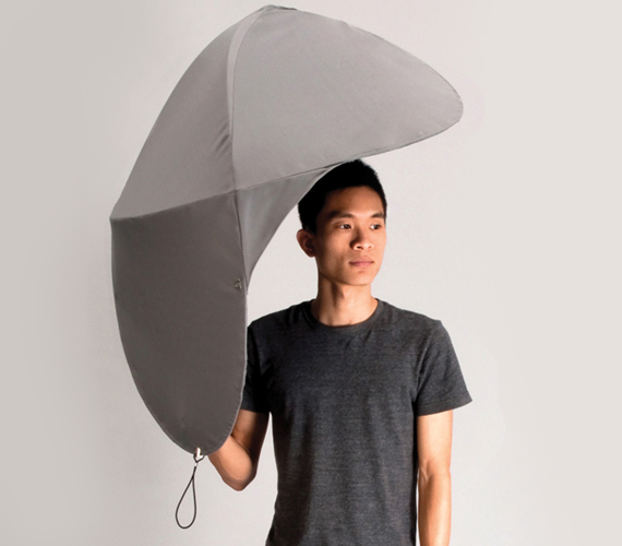 Rain Shield Makes Umbrellas Look Like Chumps