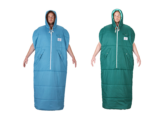 The Napsack Is Like A Slanket For Campers