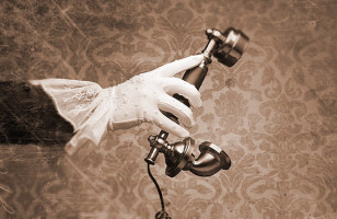 Throw It Way Back With A Victorian Phone Handset