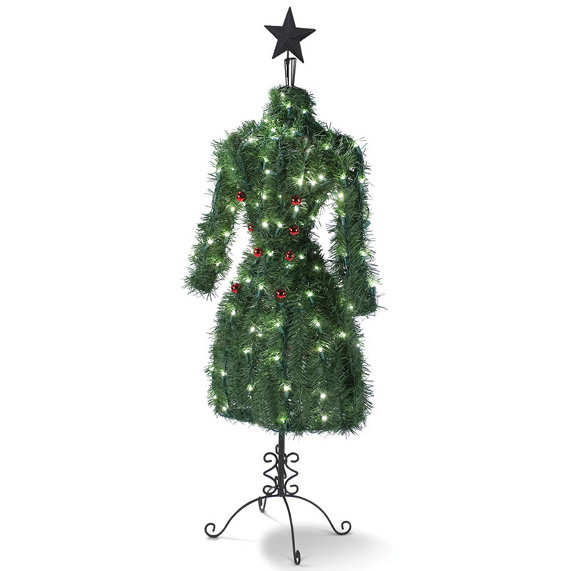 a christmas tree for the fashionista - A Christmas Tree