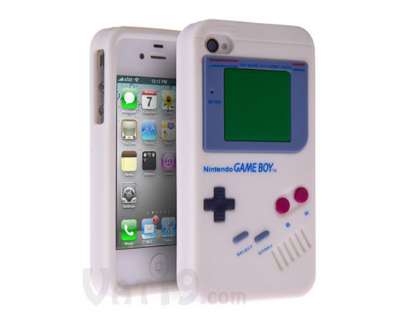 Beep Boop Bop: Game Boy iPhone Case