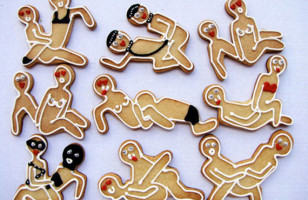 Kama Sutra Gingerbread Cookie Cutters