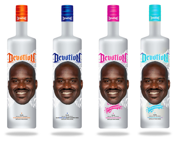 Shaquille O'Neal Branded Vodka