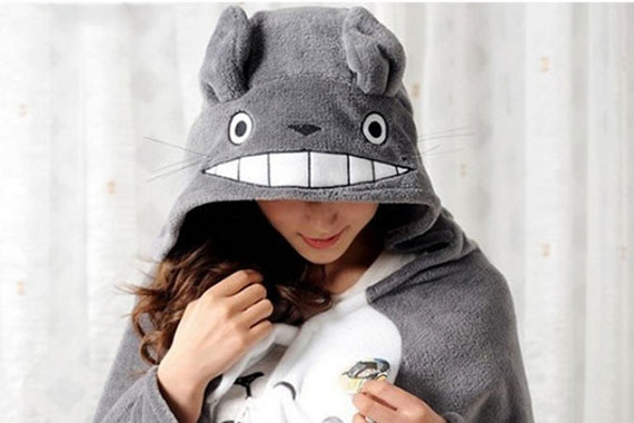 Be As Snuggly As Totoro In This Snuggie!