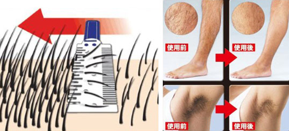 The Body Hair Thinner Takes You From Scary To Hairy