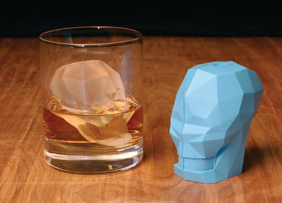 Skull Ice Cube Are Fit For A Super Villain