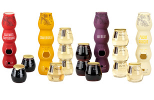 Stacked Wine Saves Precious Drinking Time