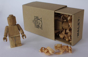 LEGO Minifigs Are All Grown Up In Wood