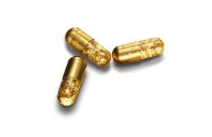 This Gold Pill Makes You Poop Glitter