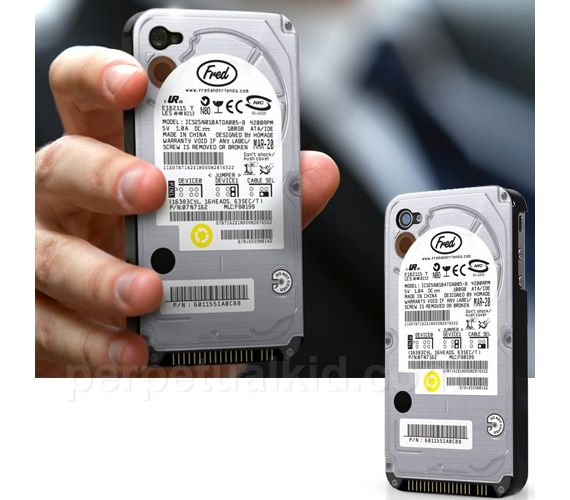 Hard Drive iPhone Case Conceals Your Geeky
