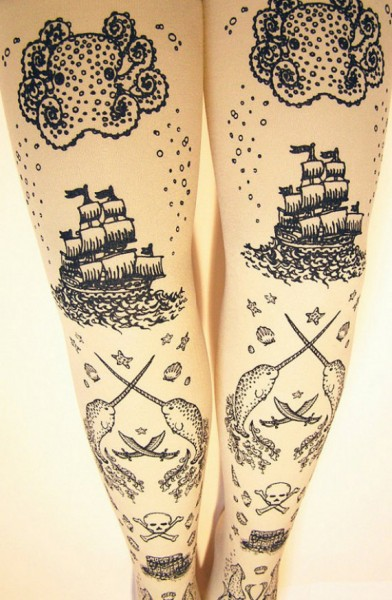 Yo Ho! Some Pirate Tights For Me