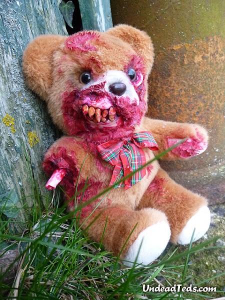 Nightmare Inducing Zombie Teddy Bears