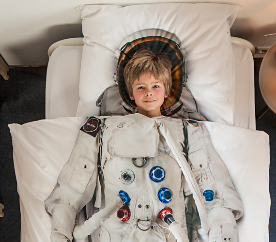 This Astronaut Bedding Is Out of This World