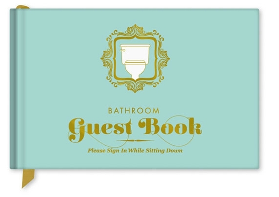 Share A Special Movement With The Bathroom Guest Book
