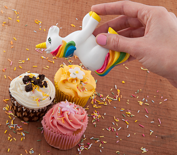 Add Magic To Every Meal with the Unicorn Sprinkles Shaker