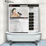 YouTube  Online Bath Shower Curtain