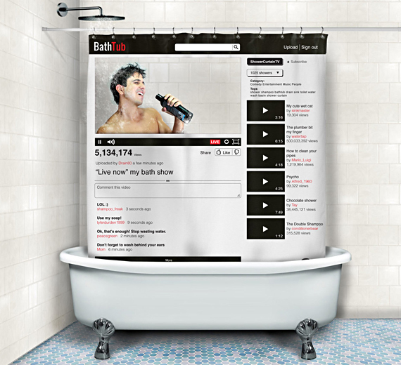 Become A YouTube Star In The Shower