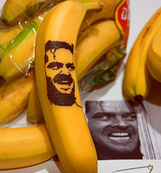 Banana Art Featuring Pop Culture Icons