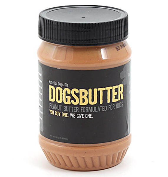 Huh?: Dogsbutter Is Peanut Butter For Dogs