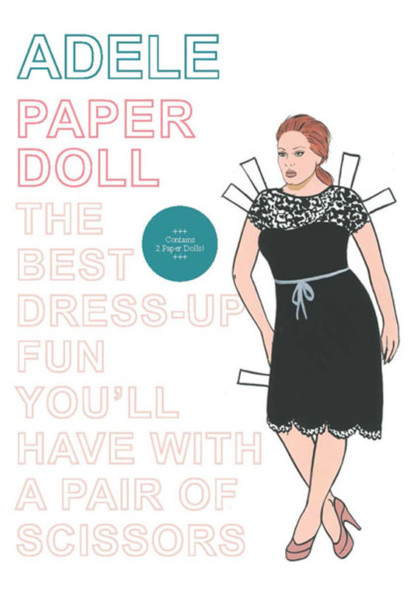Dress Up Your Favorite Popstar Paper Doll!
