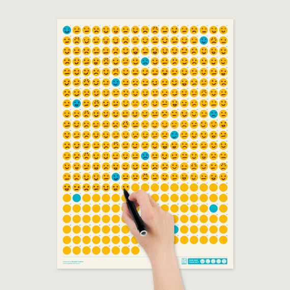 Emoticon Calendar Tracks Your Feelings