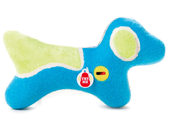 FINALLY: Squeaky Dog Toys With Mute Buttons