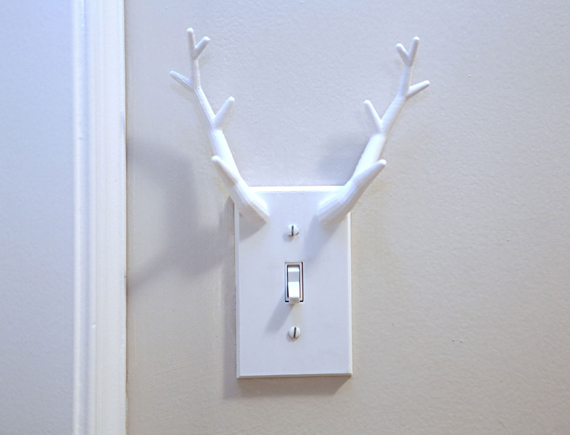 Plastic Switch Plate Covers Beauteous Antler Switchplate Cover Decorating Design & Plastic Switch Plate Covers Amusing Plastic Wall Plates Outlet Cover ...