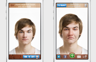 Make Happy People Sad With the CryFace App