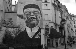 Monsieur Yoda Street Art